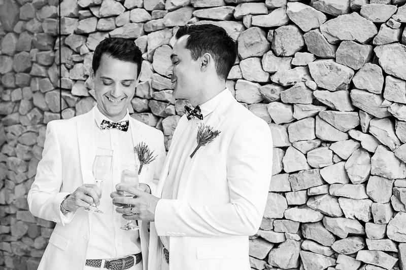 Dom & Gareth | Wedding Day | Trogan House, South Africa-107