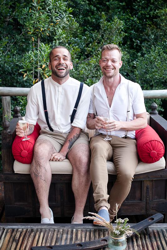 Dom & Gareth | Wedding Day | Trogan House, South Africa-130