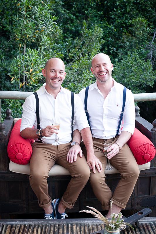 Dom & Gareth | Wedding Day | Trogan House, South Africa-133