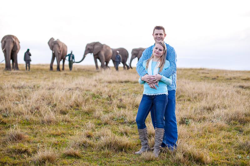 Elmar & Colleen Anniversary Shoot Knysna Elephant Park-13