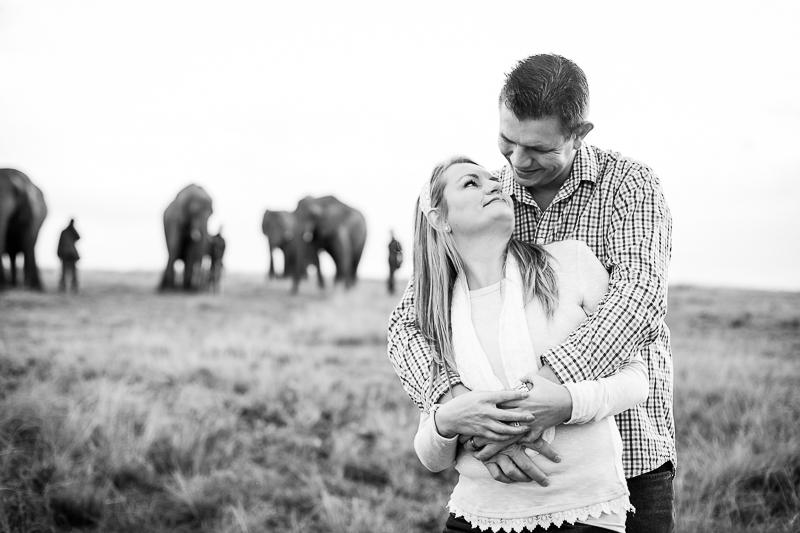 Elmar & Colleen Anniversary Shoot Knysna Elephant Park-16