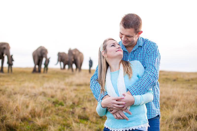 Elmar & Colleen Anniversary Shoot Knysna Elephant Park-19
