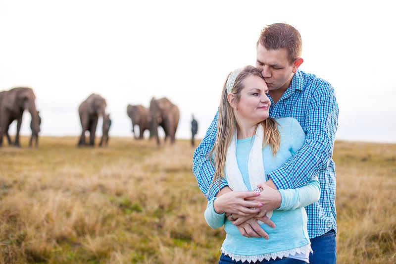 Elmar & Colleen Anniversary Shoot Knysna Elephant Park-20