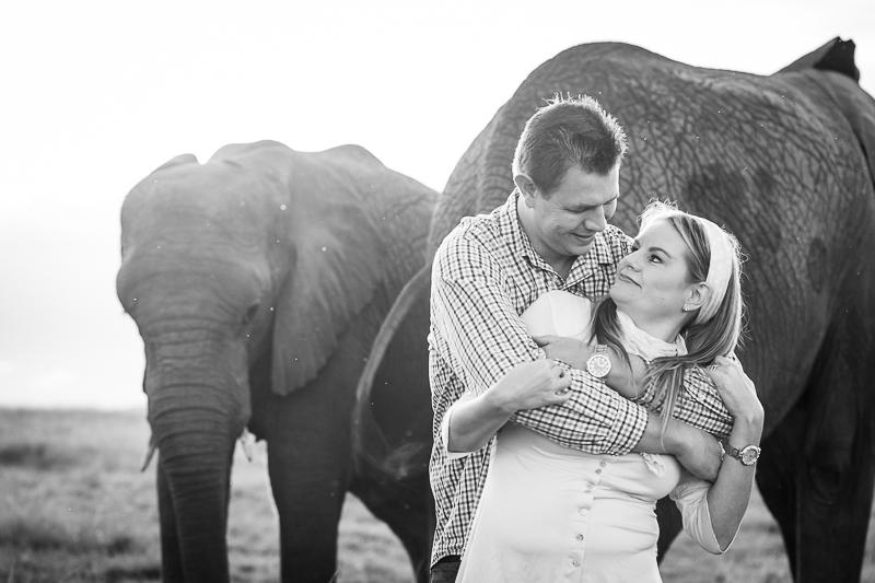 Elmar & Colleen Anniversary Shoot Knysna Elephant Park-51