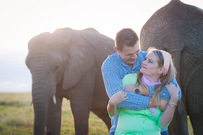 Elmar & Colleen Anniversary Shoot Knysna Elephant Park-53