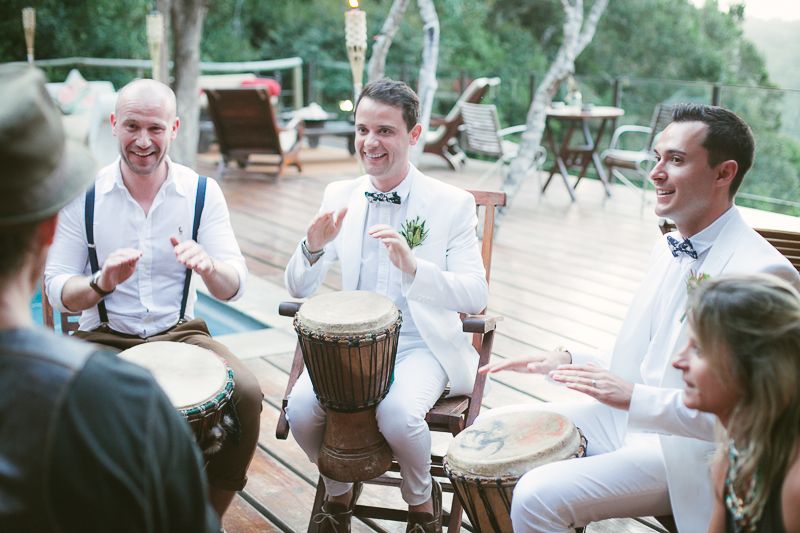 Dom & Gareth | Wedding Day | Trogan House, South Africa-151