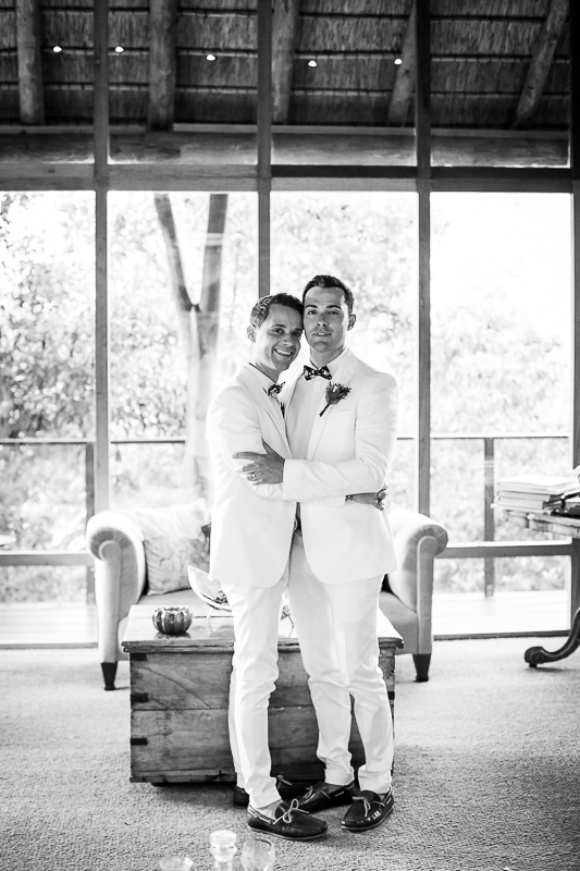 Dom & Gareth | Wedding Day | Trogan House, South Africa-87